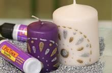Kerzen Weihnachtlich Verzieren 4 Tolle Und