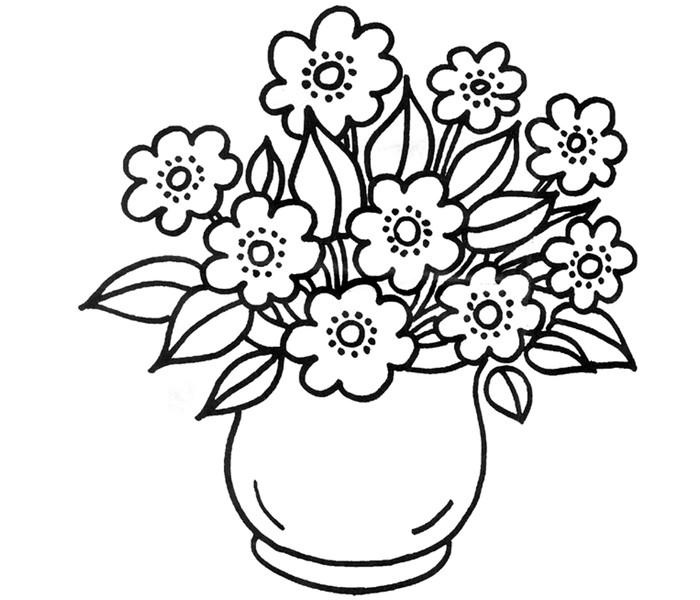 Malvorlage Blume Klein ~ Die Beste Idee Zum Ausmalen von Seiten