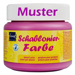 Schablonierfarbe Metallic-Gelb 150 ml