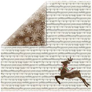 Scrapbookingpapier Jingle all the Way, 30,5 x 30,5 cm, 190 g/m²