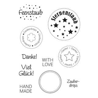 Clear Stamps, Zauberdrops, 10 - teilig