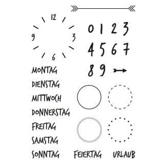 Clear Stamps, Kalender 2, 26 - teilig