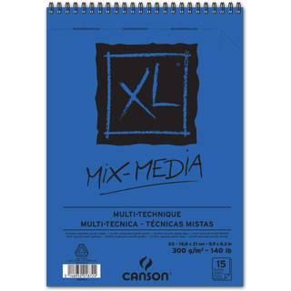 CANSON Skizzen- und Studienblock XL MIX MEDIA, DIN A5