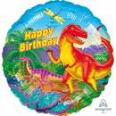 Folienballon Happy Birthday Prehistoric Party Standard...