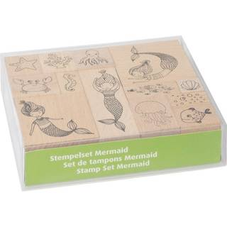Stempel - Set, Mermaid, Meerjungfrau, 13 Motive