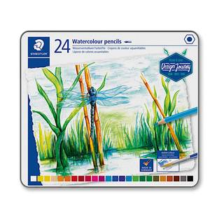 Buntstift aquarell 24 Farben