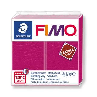 FIMO leather effect, beere