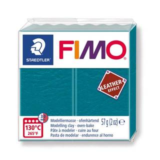 FIMO leather effect, lagune