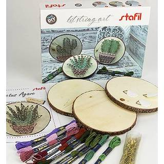 String art kit, Kaktus, Fadenbilder Bastel-Set