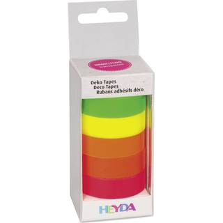Deko Tape Mix Neon transparent, 5er