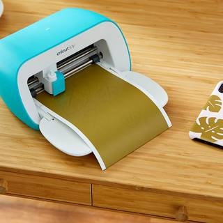 Cricut Joy Smart Vinyl, Permanent, Blue, Blau, 122 cm
