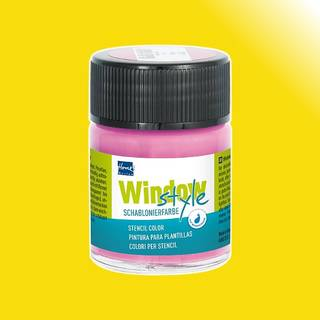 Window-Style Glasmalfarbe, Sonnengelb 50 ml
