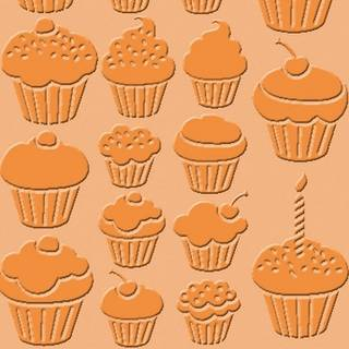 Cuttlebug Embossing Schablone Cupcakes