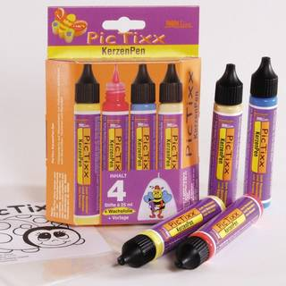 PicTixx KerzenPens 4er Set