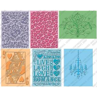 Cuttlebug Embossing Set Love is in the air