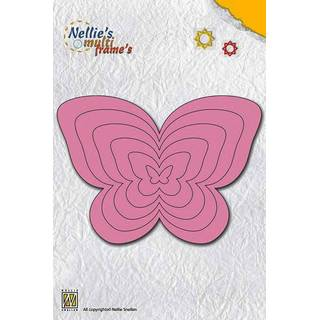 Nellies Multi Frame Dies, butterfly