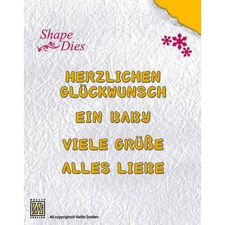 Nellies Shape Dies, Deutsche Texte 1