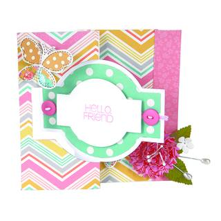 Sizzix Movers & Shapers, Card, Ornate Flip-its #2