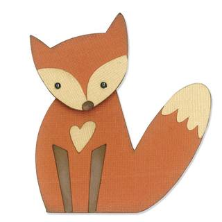 Sizzix Thinlits Schablonen-Set, Fuchs, Fox
