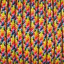 Paracord, Farbmix, 4 mm x 50 m, bunt