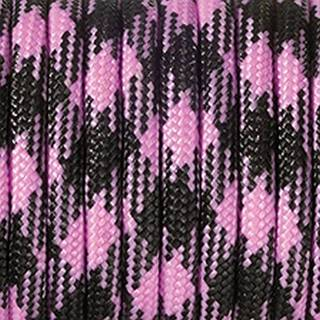Paracord, Farbmix, 4 mm x 50 m, rosa pink schwarz