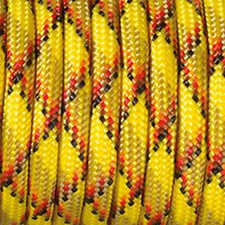 Paracord, Farbmix, 4 mm x 5 m, gelb