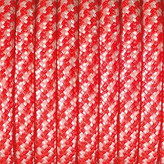 Paracord, Farbmix, 4 mm x 5 m, rot weiß