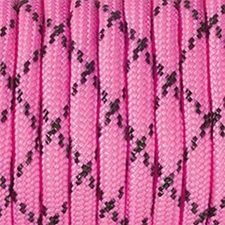 Paracord, Farbmix, 4 mm x 5 m, pink schwarz