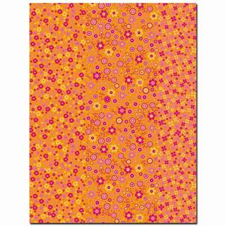 Blatt décopatch®, ref. 594, 30 x 40 cm, 20 g/m², gelb & orange