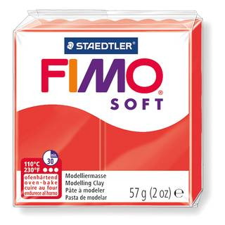 Fimo® Soft, indischrot Nr. 24, 57 g