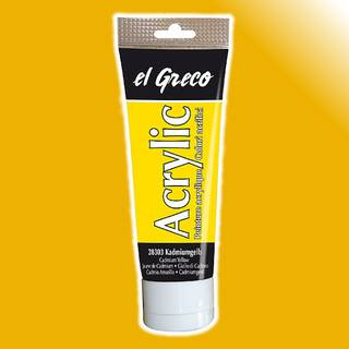 el Greco Acrylfarbe Gold, 75 ml