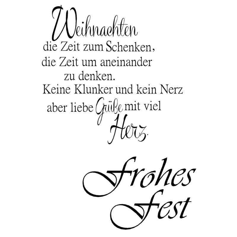 """teilig Glückwunsch 3 transparent A7 Clear Stamps /""""Liebe Grüße/"""""""