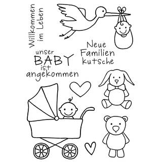 Clear Stamps, Baby, 9 - teilig