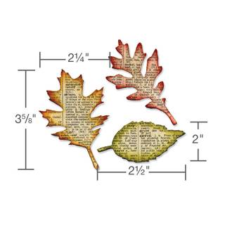 Sizzix Bigz, Tattered Leaves v. Tim Holtz