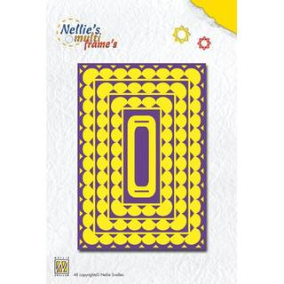 Nellies Multi Frame Dies, rectangle