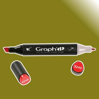 Graph It Alkohol Marker 8290 - Olive