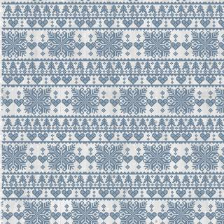 Nordic Christmas A4 Folder, Fairisle