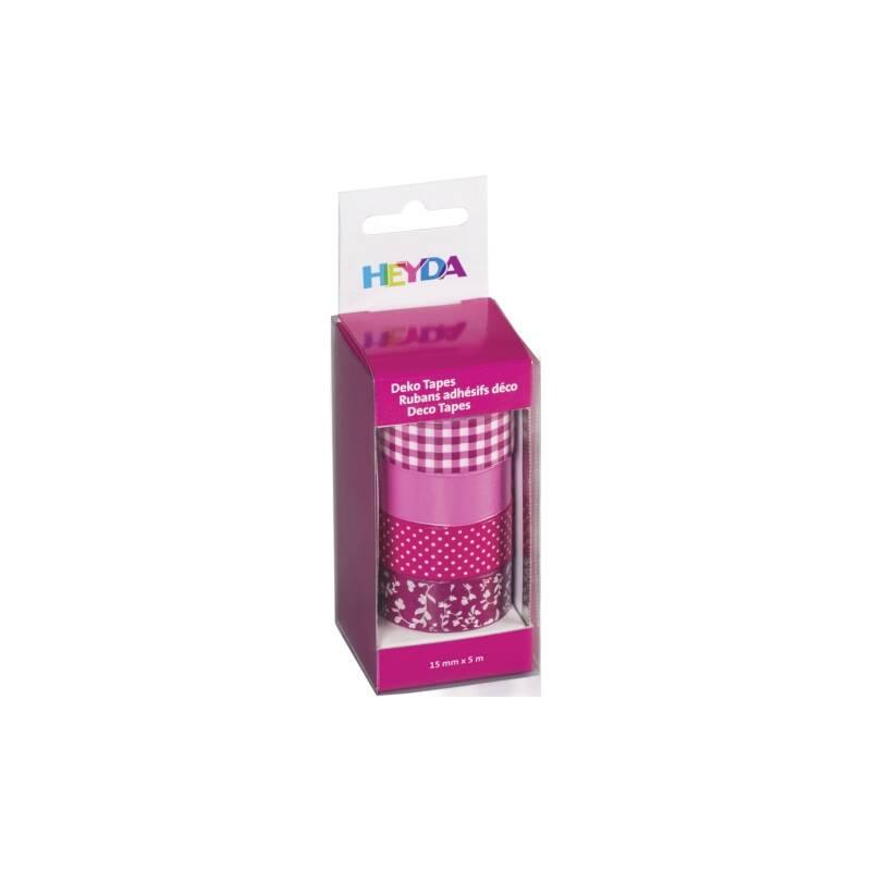 Deko tape colour code 4er pink for Deko rostfarbe