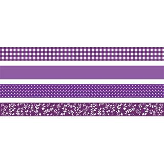 Deko Tape Colour Code 4er purple