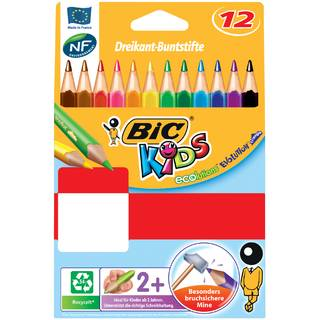 BIC KIDS Buntstifte Evolution Triangle, 12er Kartonetui