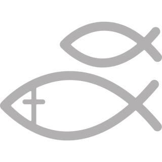 2 christliche fische als stanzschablone f r sizzix u co. Black Bedroom Furniture Sets. Home Design Ideas