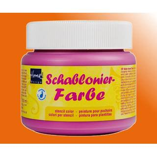 Schablonierfarbe Orange 150 ml