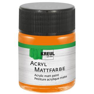 Acryl-Mattfarbe Orange