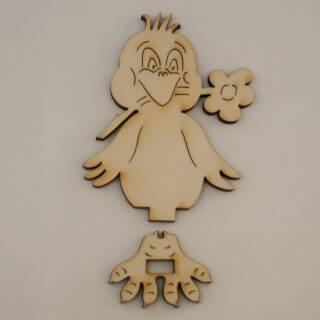 Mit Holz Basteln Und Holzfiguren Individuell Bemalen Und Gestalten