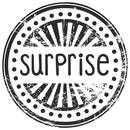 Stempel rund - Surprise