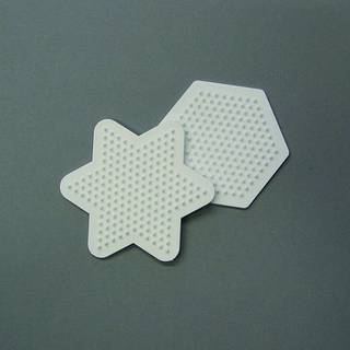 Nabbi® - Legeplatte, Mix Hexagon / Stern, 9 cm