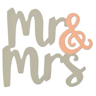 Sizzix Bigz, Mr. & Mrs.