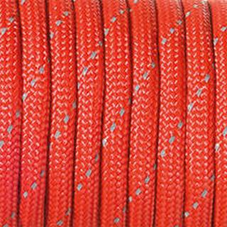 Paracord, 4 mm x 5 m, rot reflektierend