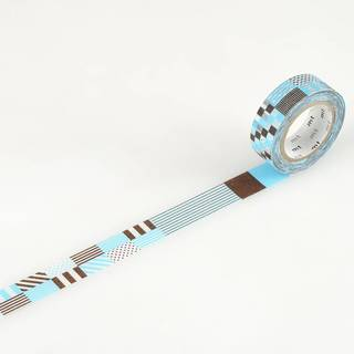 mt masking tape - mix blue
