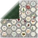 Scrapbookingpapier Tis The Season, 30,5 x 30,5 cm, 190 g/m²